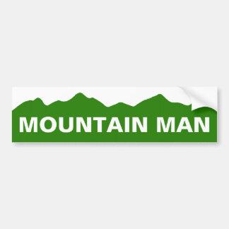 Mountain Man Colorado Bumper Sticker Car Bumper Sticker