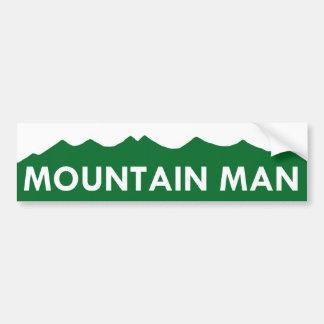 MOUNTAIN MAN - Colorado Car Bumper Sticker