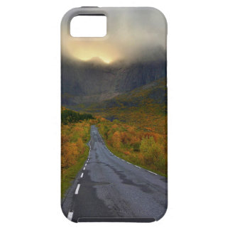 Mountain Massif of Flakstadoya Island Norway iPhone 5 Cases