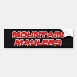 Mountain Maulers Team Bumper Sticker