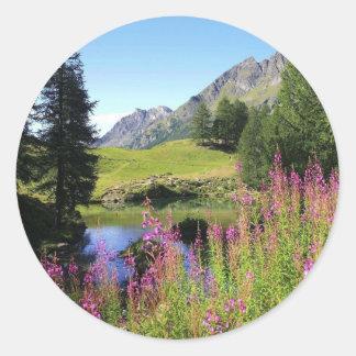 Mountain Meadow Classic Round Sticker