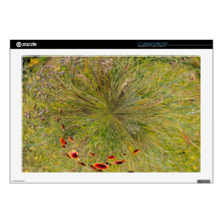 Mountain Meadow Decal For Laptop