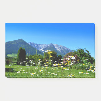 Mountain Meadow Post-it Notes
