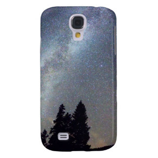 Mountain Milky Way Stary Night View Galaxy S4 Cases
