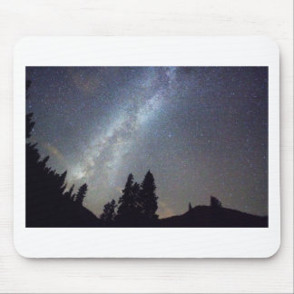 Mountain Milky Way Stary Night View Mouse Pad