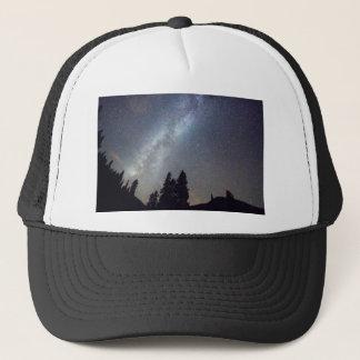 Mountain Milky Way Stary Night View Trucker Hat