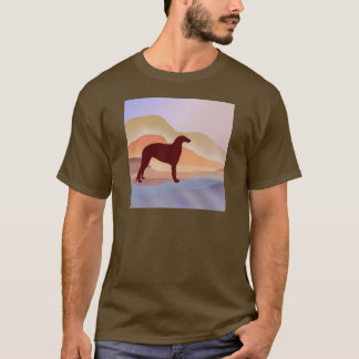 Mountain Mirage Borzoi T-Shirt