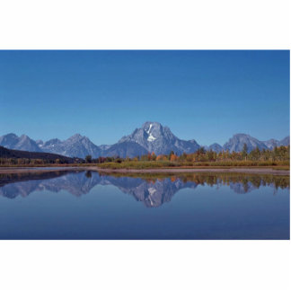 Mountain Mirror Standing Photo Sculpture