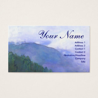 Mountain mist business card