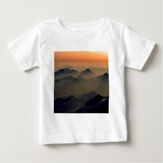 Mountain Misty Peaks Alps Austria Baby T-Shirt