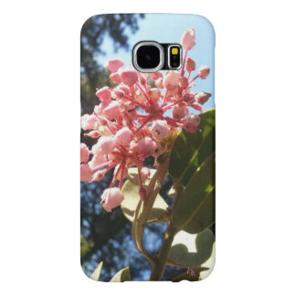Mountain Mohogany Blossom Pines Blue Sky Samsung Galaxy S6 Case