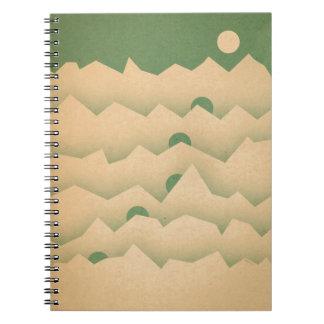 Mountain Moon Rising Notebook
