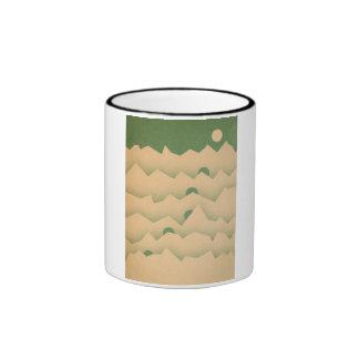 Mountain Moon Rising Ringer Mug