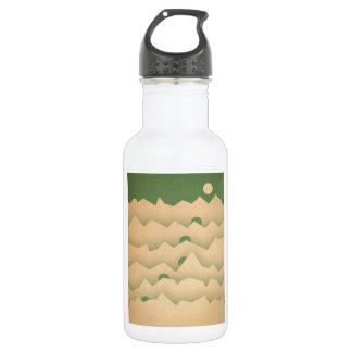Mountain Moon Rising Stainless Steel Water Bottle