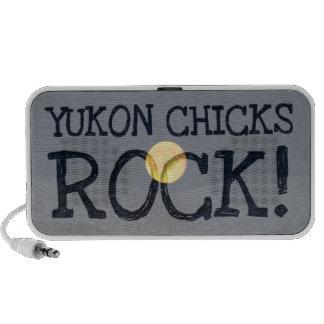 Mountain Moon; Yukon Chicks ROCK! Portable Speaker