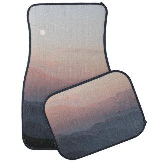 Mountain Moonrise Car Floor Mat