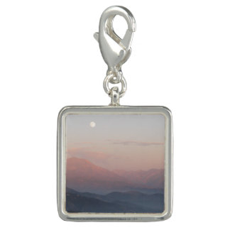 Mountain Moonrise Charm