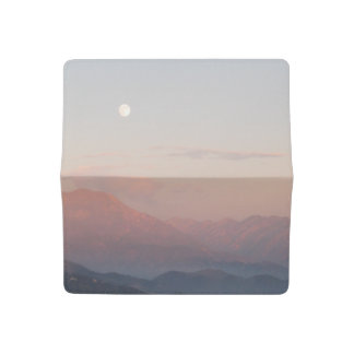 Mountain Moonrise Checkbook Cover