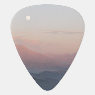 Mountain Moonrise Guitar Pick