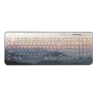 Mountain Moonrise Keyboard