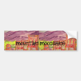 mountain moonshine bumper sticker