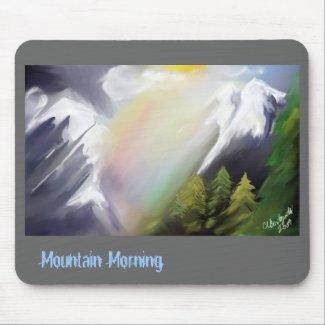 Mountain Morning mousepad