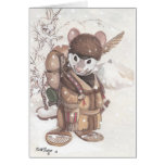 mountain mouse greeting card