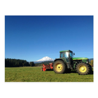 Mountain Mower Postcard