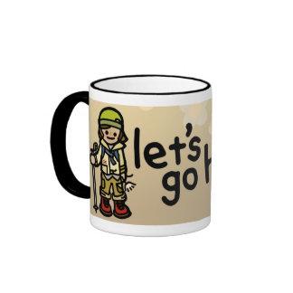 mountain mug. ringer mug