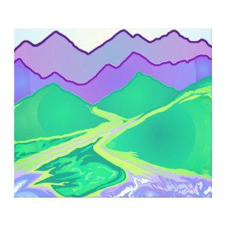Mountain Murmurs Canvas Print