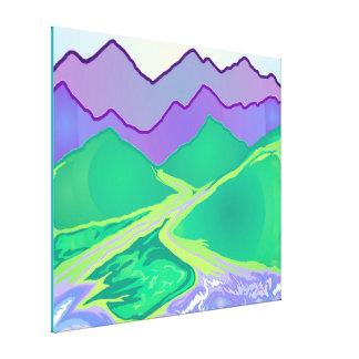 Mountain Murmurs - Larger size Canvas Print