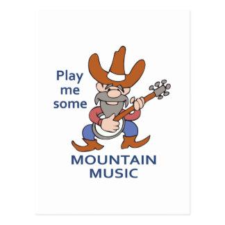 MOUNTAIN MUSIC POSTCARD