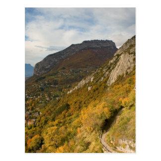 Mountain near Grenoble Postcard