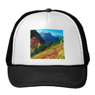 Mountain North Cascades In Autumn Baker Trucker Hat