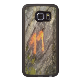 Mountain number 11 wood phone case