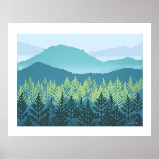 Mountain Nursery Poster