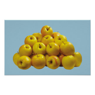 Mountain of Apples Poster