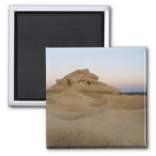 Mountain of the dead, Siwa, Egypt Magnet