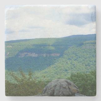 Mountain Overlook Stone Coaster