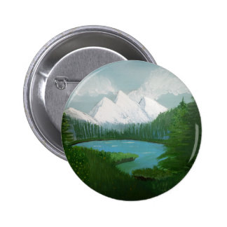 Mountain painting button