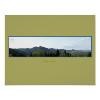 Mountain Panorama, Colorado Poster