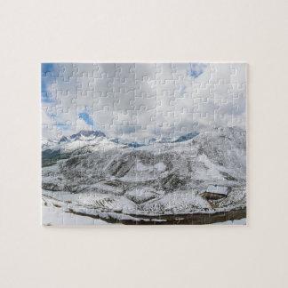 Mountain Panorama Hochalppass Hochkrumbach Austria Jigsaw Puzzle