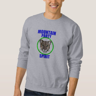 """Mountain Party Circle Spirit"" Sweatshirt"