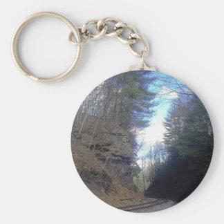 Mountain Pass Keychain