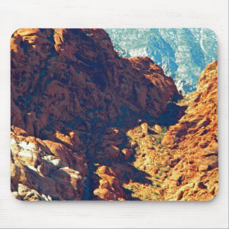 Mountain Pass Mouse Pad