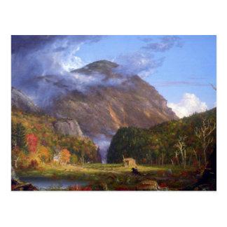 Mountain Pass, Notch of White Mountain Postcard