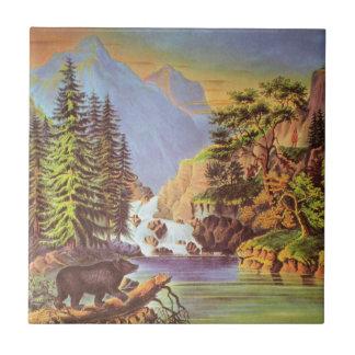 Mountain Pass Tile