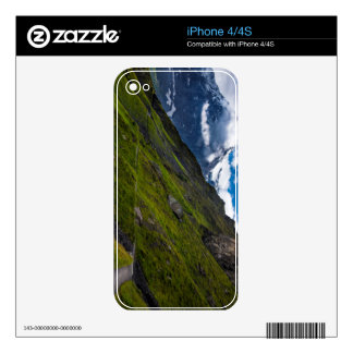Mountain Path In The Swiss Alps Decal For The iPhone 4