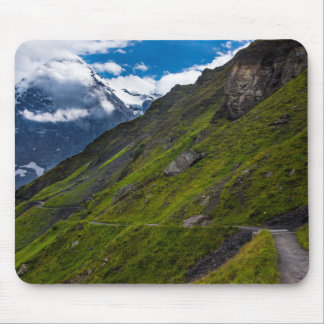 Mountain Path In The Swiss Alps Mouse Pad