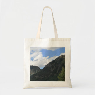Mountain Peaks Tote Bag